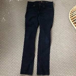 New 7 for all mankind straight leg jeans sz 26